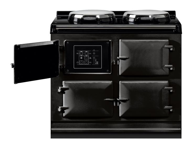 AGA Total Control 3 oven in Black with touch screen control panel