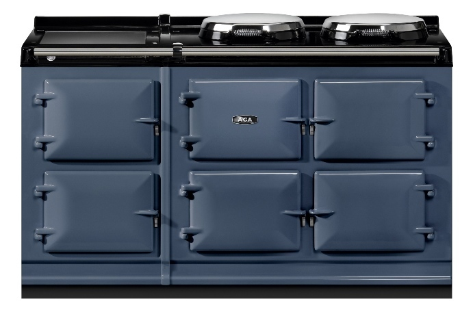 AGA Total Control 5 oven in Dartmouth Blue