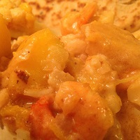 Prawn & Mango Satay Curry