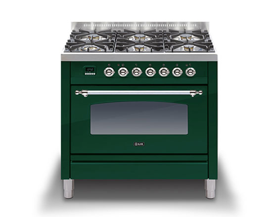 ILVE Milano 900 single dual fuel